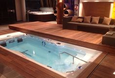 MP pool- with pull over cover slide deck! - love this idea! Costly to build I'm sure but yes!!!