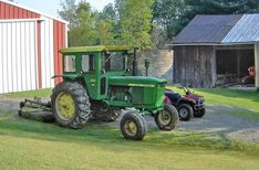 John Deere 4020, Bombardier Traxter and Tucker Sno-Cat 442a