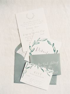 Take everything you love about a Tuscan-style wedding - think gorgeous garland, organic, loose bouquets, and olive branch details and pair it with black tie elegance. The result? This wedding designed. Wedding Invitation Inspiration, Wedding Invitation Design, Wedding Stationary, Wedding Inspiration, Wedding Paper, Wedding Cards, Diy Wedding, Elegant Wedding, Wedding Themes