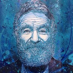 Robin Williams by C215