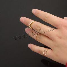 Mid Finger Ring Zinc Alloy gold color plated with rhinestone nickel lead cadmium free US Ring wholesale jewelry beads Mid Finger Rings, Semi Precious Beads, Lampwork Beads, Wholesale Jewelry, Gemstone Beads, Beaded Jewelry, Glass Beads, Plating, Gemstones