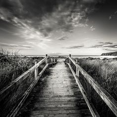 Great textures in this landscape black & white beach image.
