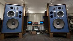 JBL 4344 w/ Genuine Re-coned & Upgraded Diaphragms, Perfect Restored ケンリ...