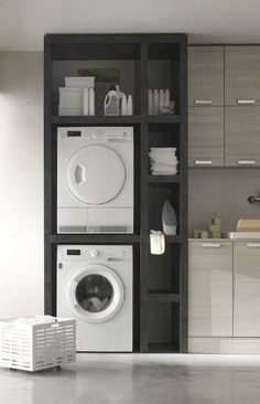 68 Stunning DIY Laundry Room Storage Shelves Ideas Essahouz Diy Home Decor dıy Essahouz Ideas Laundry Room Shelves Storage Stunning Laundry Room Remodel, Laundry Room Cabinets, Laundry Room Organization, Diy Cabinets, Laundry Shelves, Storage Organization, Diy Storage Space, Laundry Rack, Organizing Tips