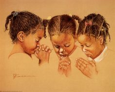 Praying, what it's all about.