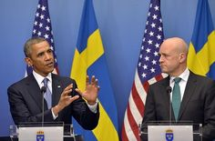 A Swedish reporter confronted President Barack Obama about reconciling a pending attack on Syria with his 2009 Nobel Peace Prize that he won almost immediately after taking office. Obama and Sweden...