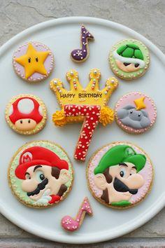 Mario Cookies...<3