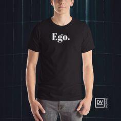 Ego. T-Shirt - Now available at davidventer.net/homme- $32.50 - Shipping Worldwide. #DVHOMME #Ego #Menswear #Fashion #Tshirt #OnlineShopping #WorldwideShipping #BoldCollection #DavidVenter #👕 #⬛️ #⬜️ Embroidered Caps, Tank Top Shirt, T Shirt, Fashion Labels, Menswear, Mens Fashion, Mens Tops, Shopping, Male Clothing