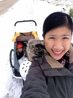 Sarah Chan's Girls & Bicycles is one of the best local bike blogs. Her winter riding advice: get studded tires. It's that easy. #yeg