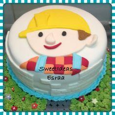 Bob the builder cake كيكه بوب البناء   https://m.facebook.com/esraacakes