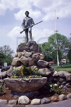 Massachusetts,colonial,history, American revolution,battle of Lexington and Concord