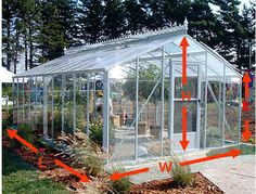 JungleSeeds Greenhouse Heat Requirement Calculator