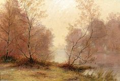 Matin d automne de Albert Gabriel Rigolot (1862-1932, France)