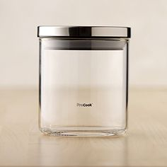 procook glass storage jar small amazoncouk kitchen u0026 home