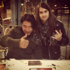 Tony and George Lynch (Dokken/Lynch Mob)  Follow us here : www.facebook.com/rustedrock  Twitter : @rusted_rock  Instagram : @tonyrust