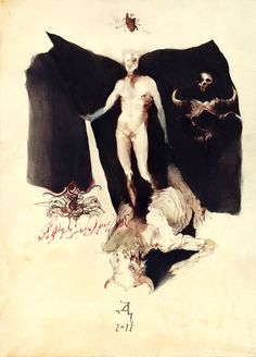The mystic and occult works of Denis Forkas Kostromitin - Bleaq