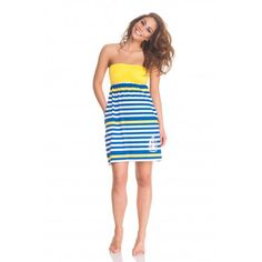 Vip Summer Beach, Poppy, Vip, Strapless Dress, Dresses, Fashion, Strapless Gown, Vestidos, Moda