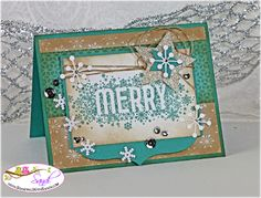 Stampin Up Seasonally Scattered for Mojo Monday