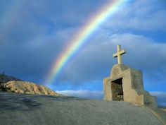 I set My bow in the cloud, and it shall be a sign of the covenant between Me and the earth.
