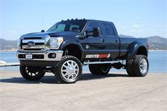 """8"""" lifted dually! #ford"""