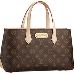 "Louis Vuitton Wilshire PM Monogram Canvas M45643 Size (LxHxD):11.8"" x 7.1"" x 4.3"""