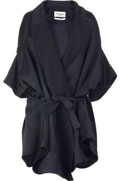 YSL silk coat