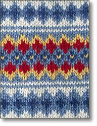 Scandinavian Colorwork taught by Mary Jane Mucklestone Fair Isle Knitting Patterns, Fair Isle Pattern, Knitting Charts, Knitting Designs, Knitting Stitches, Knit Patterns, Free Knitting, Baby Knitting, Knit Stranded
