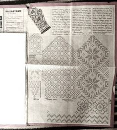 """Jane Gardner "" - Vivianne - Sweden: Vackra mönster på vantar"