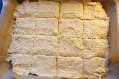 Glutenfritt morotsbröd i långpanna – Niiinis Kitchenlife Fodmap, Kitchen Dining, Dining Room, Dining Table, Cool Kitchens, Seafood, Dairy, Gluten Free, Cheese