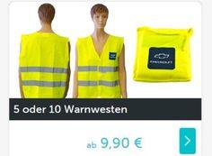 Dailydeal: Fünferpack Warnwesten für 9,90 Euro frei Haus https://www.discountfan.de/artikel/klamotten_&_schuhe/dailydeal-fuenferpack-warnwesten-fuer-9-90-euro-frei-haus.php Jetzt schon an den nächsten Sommerurlaub denken: Bei Dailydeal ist derzeit ein Fünferpack Warnwesten zum Schnäppchenpreis von 9,90 Euro mit Versand zu haben. In vielen Ländern Europas ist das Mitführen im Fahrzeug zur Pflicht geworden. Dailydeal: Fünferpack Warnwesten für 9,90 Euro frei Haus (Bi