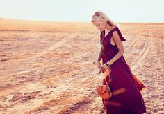 Infidels News: Louise Bingham styles Hanneli Rupert's hair and makeup for ANA Magazine Cover and editorial