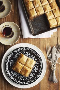 Choc + Hazelnut Baklava Recipe | Flavours from the Orient – Turkish Food Recipes