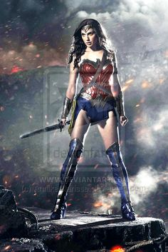 BvS Wonder Woman New 52 Recolor by AnnikaClarisse.deviantart.com on @deviantART