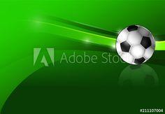 Soccer Ball, Illustration, Football Soccer, European Football, Illustrations, European Soccer, Soccer, Futbol
