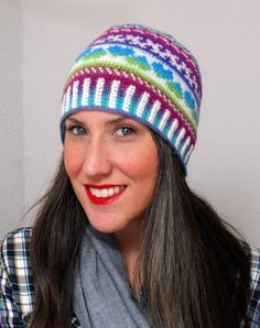 Looking for your next project? You're going to love All Ages Fair Isle Love Beanie by designer Deja Jetmir. - via @Craftsy
