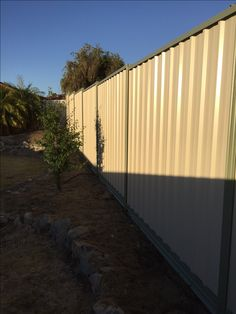 COLORBOND® is a durable, attractive and portable fence material. Select from range of contemporary Colorbond colours and speak to fencing experts to find out the most ideal for your property. Portable Fence, Metal Fence Panels, Fencing Material, Perth, Backyard Landscaping, Different Colors, Construction, Colours, Contemporary