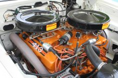 Chrysler 413 Max Wedge, 2-4bbl #Chrysler #dualquads #ohboydohboyd Motor Engine, Car Engine, Dodge Muscle Cars, Performance Engines, Race Engines, Drag Cars, American Muscle Cars, Custom Trucks, Drag Racing