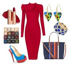 Work Flow - When I want to be serious by janelpphillip on Polyvore featuring Christian Louboutin, Tory Burch and Monet