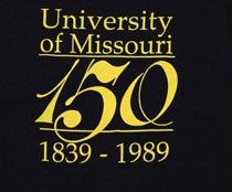 University of Missouri 150 Years Vintage size M by SleeveCandyEtsy, $30.00