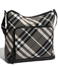 Designer Diaper Bags  Burberry Check Print Diaper Bag dcd0955df6581