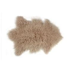 Add a high-class decorative touch to your living space by choosing this Rockwall Tan Mongolian Sheepskin Faux Fur Single Indoor Rug. Faux Sheepskin Rug, Faux Fur Rug, Fur Pillow, Throw Pillows, Fluffy Rug, Jute Rug, Cow Hide Rug, Tans, Indoor Rugs