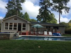 Watson- screened porch coming along (Phase II after pool)