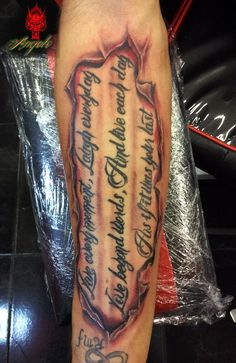 Skin Rip tattoo By Angelo @ Rising Dragon tattoo Fourways. Johannesburg.  joburgink@gmail.com, 0114677350