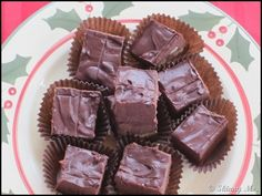 Slow Cooker Holiday Fudge from #SkinnyMs