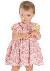 Biscotti Lots of Dots Sweet Red Polka Dot Dress for Babies & Toddlers