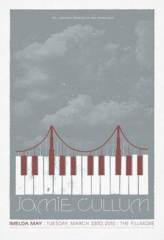 Fillmore poster for Jamie Cullum