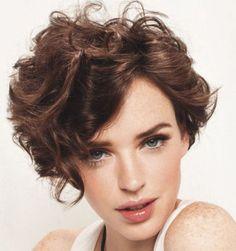 fryzury cienkie włosy kręcone - Szukaj w Google