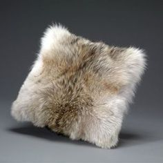 Coyote Fur Pillow by