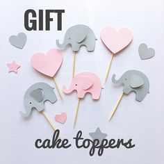 Trendy Ideas for baby girl shower signs pink Baby Shower Deco, Girl Shower, Baby Shower Cakes, Baby Shower Parties, Baby Shower Themes, Baby Shower Gifts, Shower Party, Pink Elephant Party, Baby Elephant