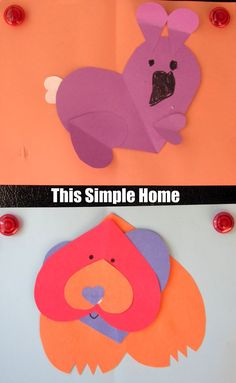 This Simple Home: My Heart Is Like a Zoo Book and Crafts